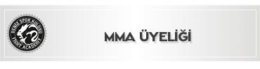 MMA ÜYELİĞİ (Mixed Mertiel Arts)
